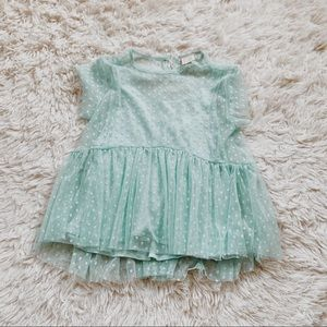Zara • Tiffany Blue Top • 8